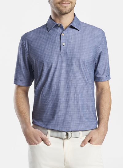 Peter Millar Mens Sailor Performance Polo - NAVY