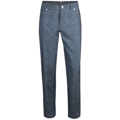 J Lindeberg Men's Jack Slim Fit Micro Stretch Pants - GRANITE MELANGE