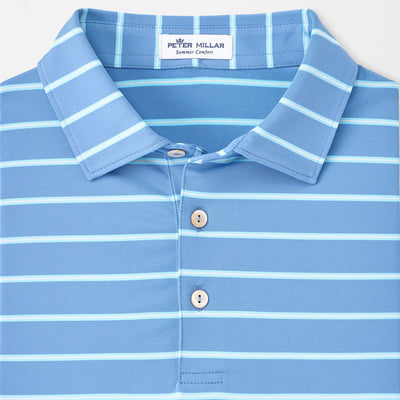 Peter Millar -  Mens Hanover Performance Polo - LAKE BLUE