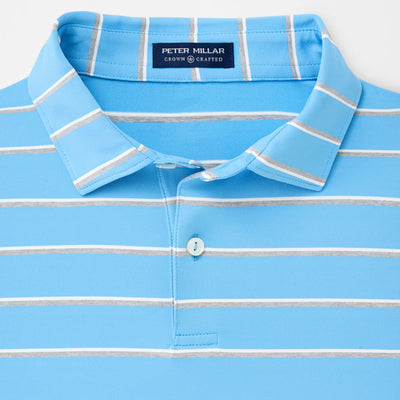 Peter Millar - Diddley Performance Polo - CANNES BLUE