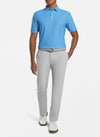 Peter Millar - Mens Jamm Geo Stretch Performance Polo - LAKE BLUE