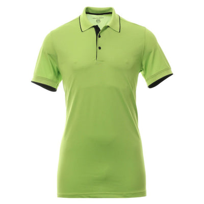 Galvin Green Mens MARTY VENTIL8™ PLUS Polo - LIME / SURF BLUE