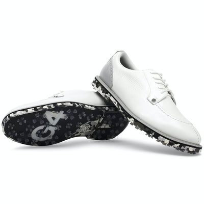 G/FORE MEN'S CAMO PINTUCK GALLIVANTER GOLF SHOE - SNOW/NIMBUS