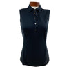 Galvin Green Womens Minnah SLEEVELESS Polo - Black