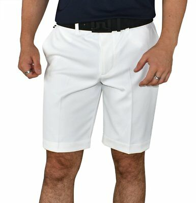 J.LINDEBERG True Regular Micro Stretch Shorts - WHITE
