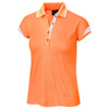 Galvin Green Womens Mandy VENTIL8™ PLUS Polo - NECTARINE