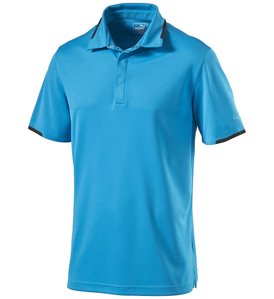 Puma Tailored Snap Golf Polo Shirt