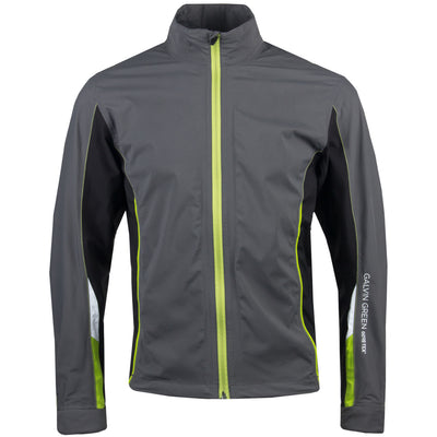 Galvin Green Mens AVERY Paclite Gore-Tex Waterproof Jacket - IRON / BLACK