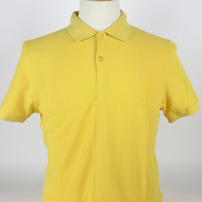 Rubi Slim JL Pique Polo - Yolk Yellow
