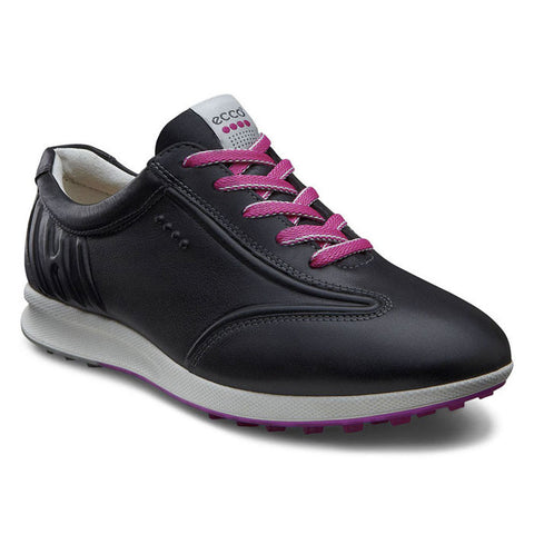 ECCO Street EVO One Sport Womens Golf Shoe - Black Feather - SZ 41