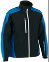 Galvin Green Almer Paclite Gore-Tex Waterproof Golf Jacket-SAMPLES Black Brilliant Blue