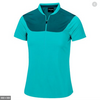 Galvin Green Womens MARLENE VENTIL8™ PLUS Shirt - Jade Peacock