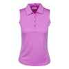 Greg Norman Women's Embossed Dot Polo - ORCHID