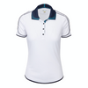 Greg Norman Women's Sklaer Polo - WHITE