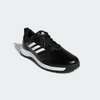 ADIDAS MEN'S CP TRAXION SPIKELESS SHOES - BLACK