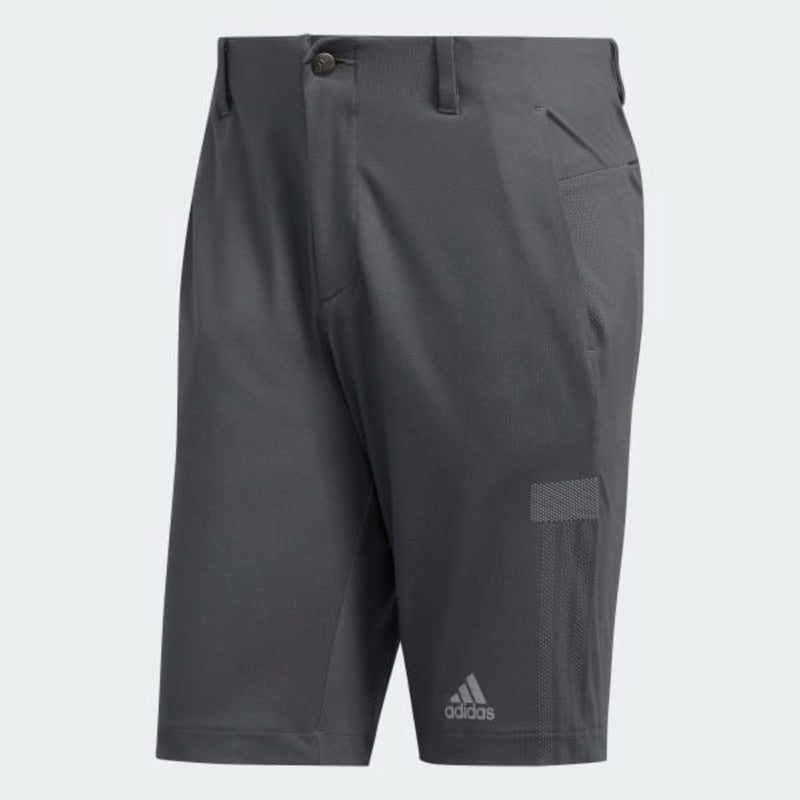 adidas Men's SPORT WARP KNIT SHORTS - Grey Five