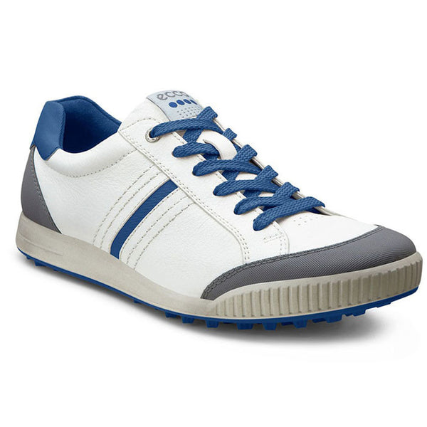 Ecco Men's Golf Street - White/Titanium/Royal Blue