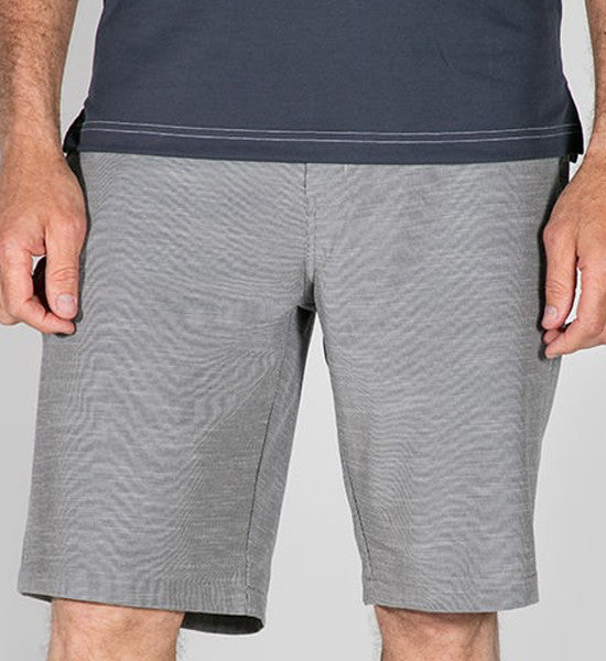 Pipe Shorts - Dress Blue/Microchip