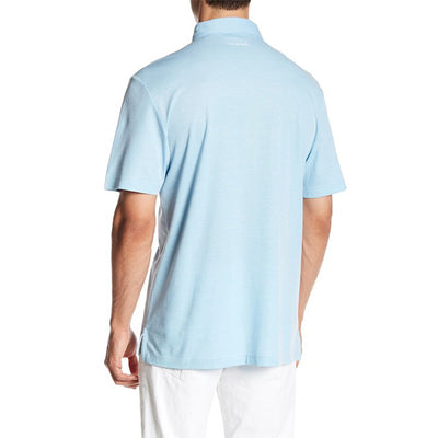Travis Mathew - Crenshaw Polo - Heather Sky Blue