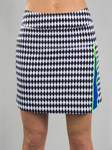 JoFit Zippy Golf Skort - Harlequin