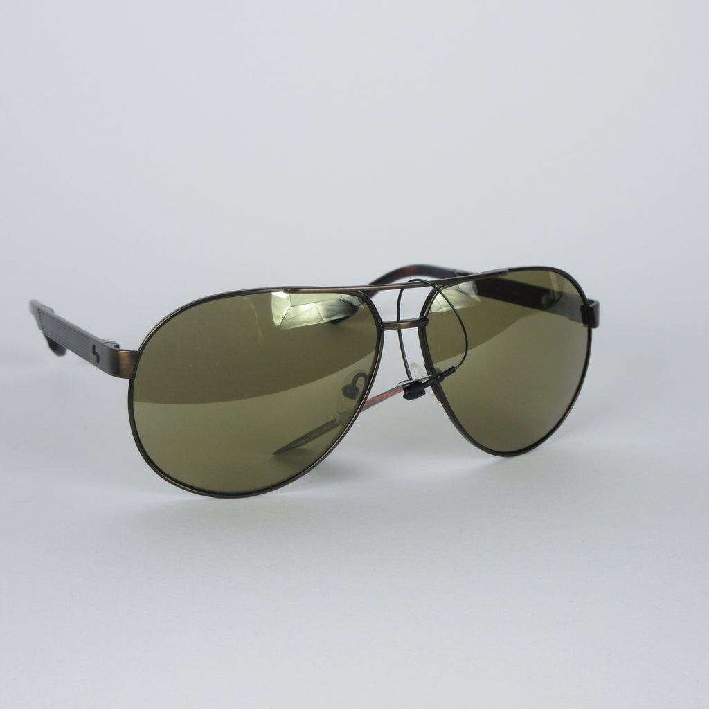 Sundog Uptown Sunglasses - Coffee Brown/Mirror
