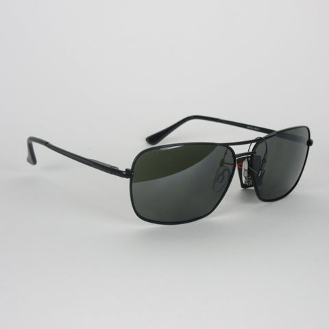 Sundog Wild Sunglasses -Gun Metal/Green