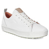 ECCO WOMENS GOLF SOFT LOW - BRIGHT WHITE