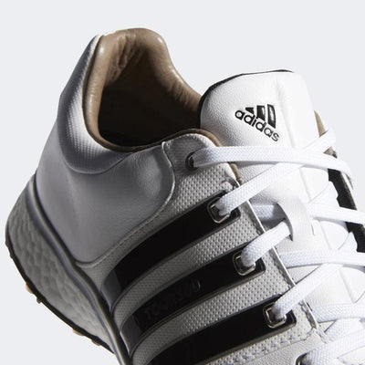 ADIDAS MEN'S GOLF TOUR360 XT-SL SHOES - WHITE / BLACK / METALLIC