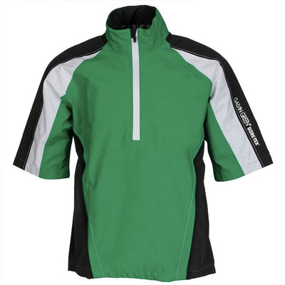Galvin Green Akron Gore-Tex Paclite Short Sleeve Waterproof -SAMPLES Sz M - GREEN GolfAnything.ca Canada