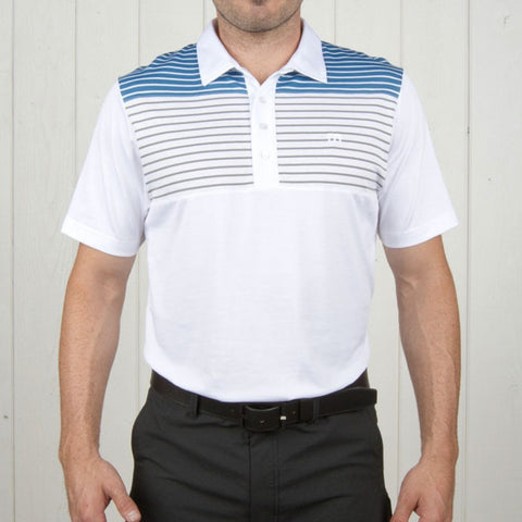 Travis Mathew Alan Polo White