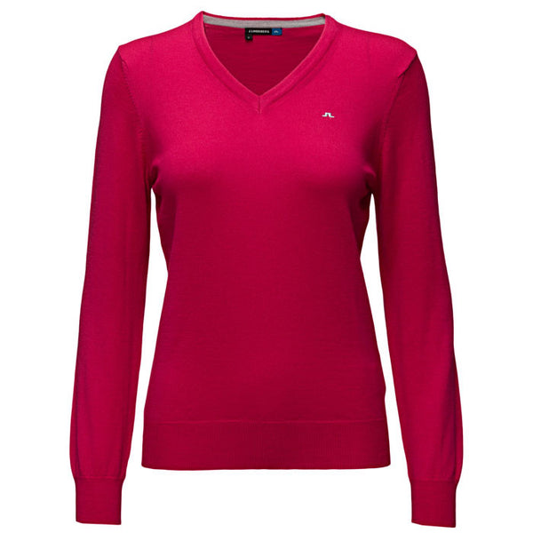 J.L Amaya True Merino Knit Pink Intense - Ladies