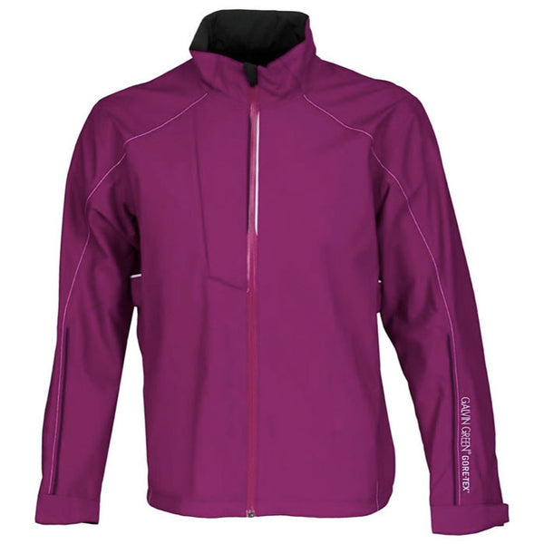 Galvin Green Apex Performance Shell Gore-Tex Waterproof Golf Jacket- SAMPLES -sz M - GRAPE GolfAnything.ca Canada