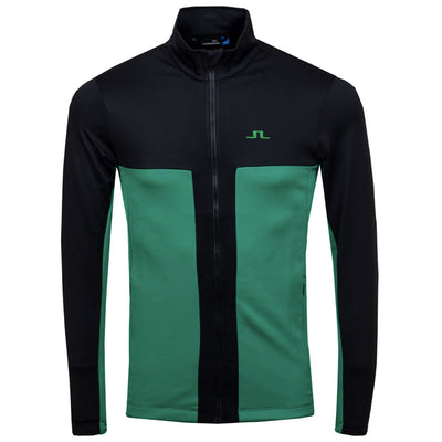J.LINDEBERG Mens BAKER MIDLAYER JACKET - GOLF GREEN - Sz Medium