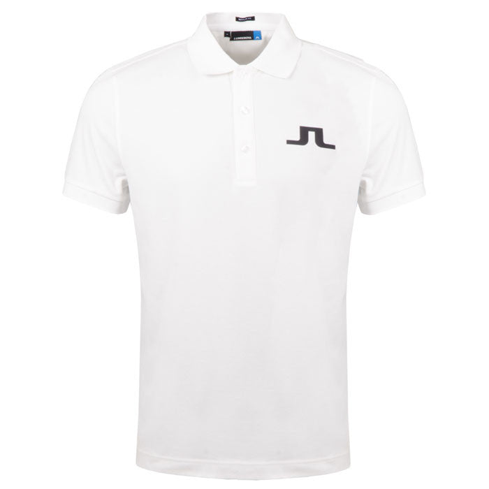 J.L BIG BRIDGE REG TX JERSEY POLO SHIRT - White