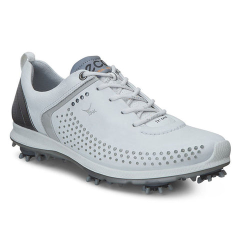 ECCO WOMENS BIOM G 2 - WHITE/BUFFED SILVER