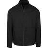 Greg Norman Mens Full Zip Packable Wind Jacket - BLACK
