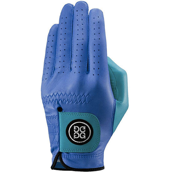 G-Fore Blocked Azure Carbretta Leather Glove WOMENS