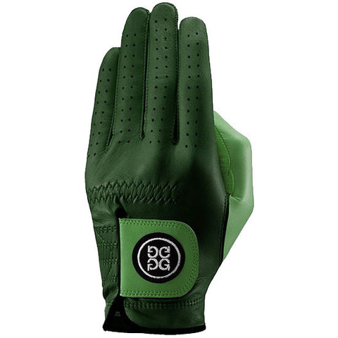 G-Fore Blocked Pine Carbretta Leather Glove WOMENS