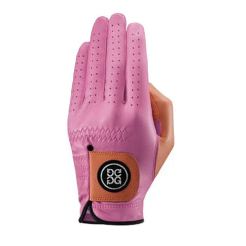 G-Fore Blocked Blossom Carbretta Leather Glove MENS