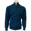 Colmar Men's Cotton Full Zip Sweater - Blue