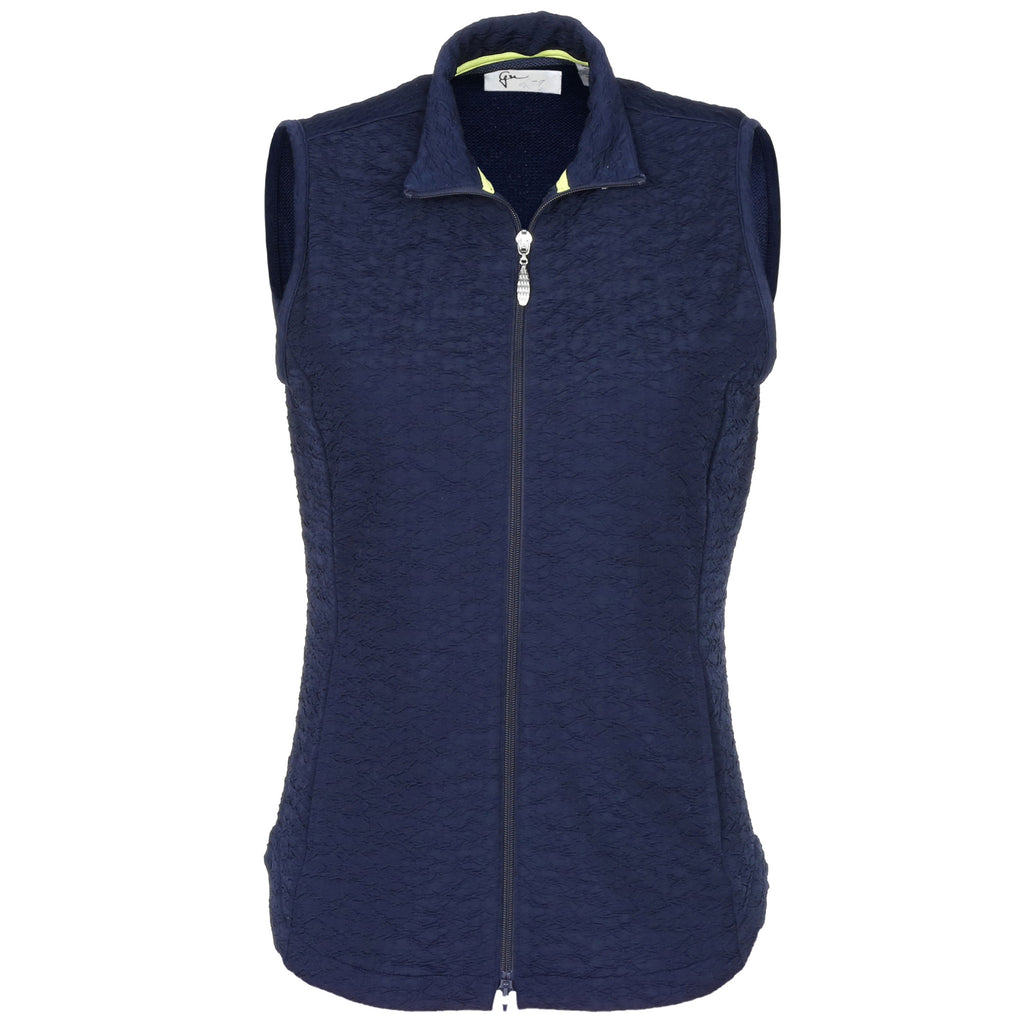 Greg Norman Ladies Crinkle Knit Vest
