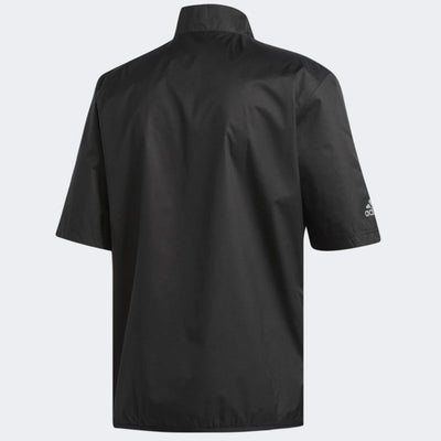 Adidas Mens Golf CLIMASTORM BANDON - SHORT SLEEVE JACKET - BLACK (PRE ORDER)