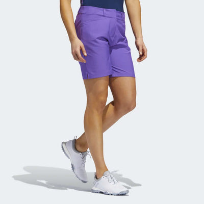 adidas Women's ULTIMATE CLUB 7-INCH SHORTS - ACTIVE PURPLE