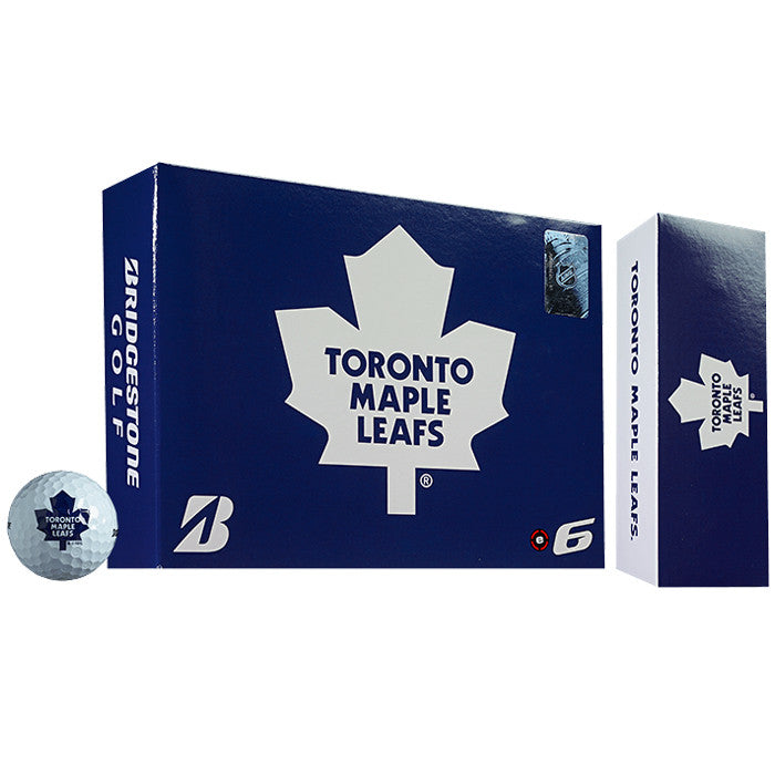 Bridgestone NHL® e6 Toronto Maple Leafs Golf Balls