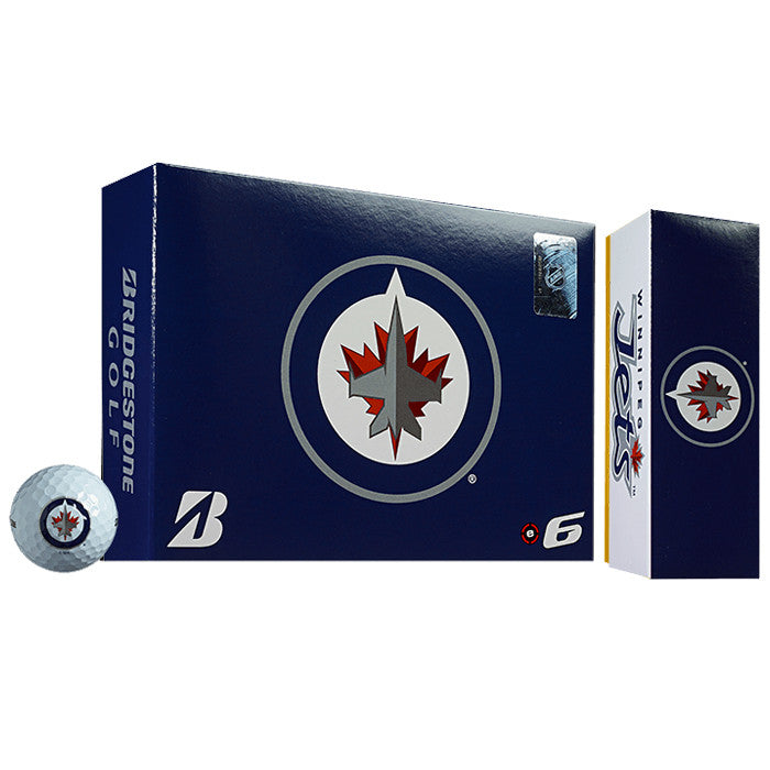 Bridgestone NHL® e6 Winnipeg Jets Golf Balls