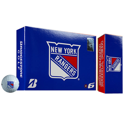 Bridgestone NHL® e6 New York Rangers Golf Balls