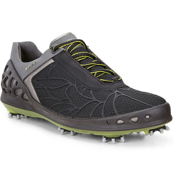 ECCO Women's - Cage Evo Golf Shoes - Black Textile