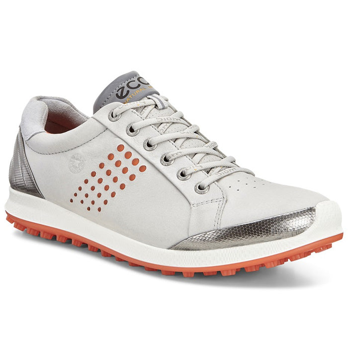 ECCO Men's BIOM Golf Hybrid 2 - CONCRETE/FIRE