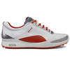 ECCO Womens BIOM Hybrid Lace - WHITE / FIRE