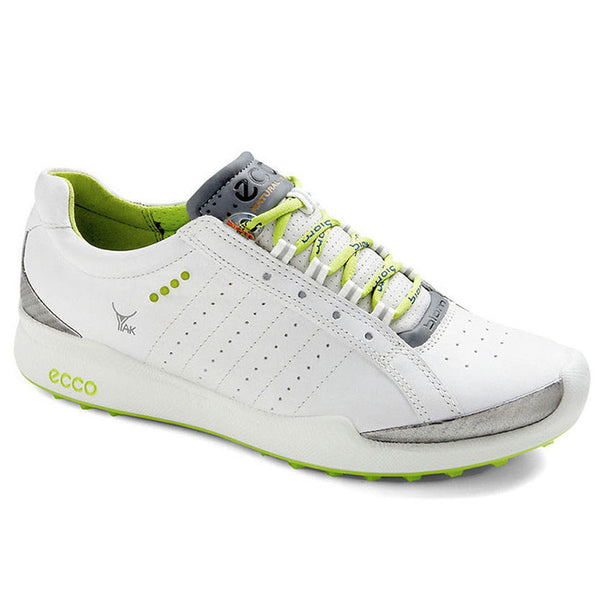 ECCO Womens BIOM Hybrid Sport - WHITE /LIME PUNCH